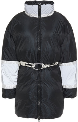 Ienki Ienki Fireman Color-block Shell Down Coat