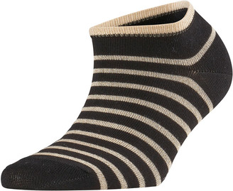 Falke Nautical Stripe Shimmer Ankle Socks