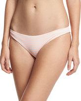 Eberjey Reversible Swim Bottoms, Pink Pattern