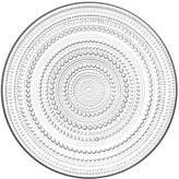 """Iittala Dinnerware, Kastehelmi Clear 12.25"""" Large Plate"""