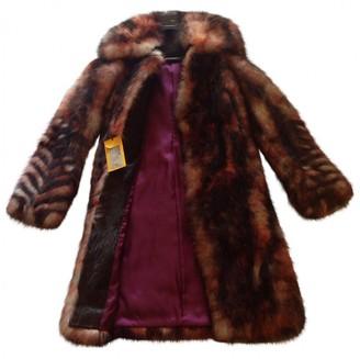 Fendi Red Fur Coats