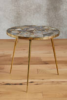 Anthropologie Agate End Table