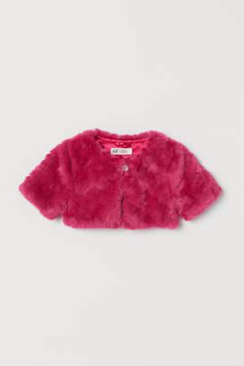 H&M Faux fur bolero