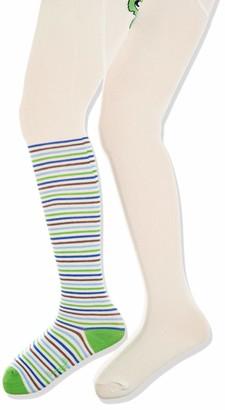 Playshoes Girl's Schildkrote und Unifarben mit Komfortbund Tights