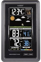 La Crosse Technology 308-1425C Wireless Vertical Color Forecast Station by