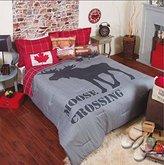 New Moose (Canada) Teens Boys Reversible Comforter Set And Sheet Set 10 Pcs Full Xl Size