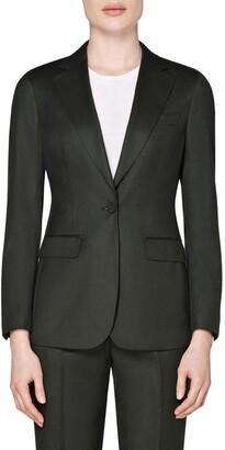 SUISTUDIO Cameron Single Breasted Wool Jacket