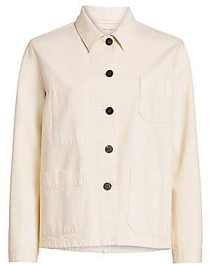 The Row Women's Kurt Cotton Cargo Jacket