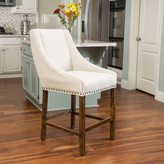 Christopher Knight Home James Fabric Counter Stool