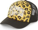 Billionaire Boys Club Leopard-print Trucker Cap