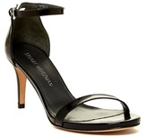Stuart Weitzman Nubare Leather Ankle Strap Sandal - Wide Width Available