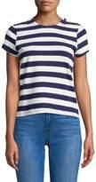 MDS Stripes Women's Hutton Cotton Stripe Tee
