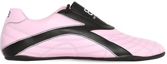 Balenciaga 10mm Zen Faux Leather Sneakers