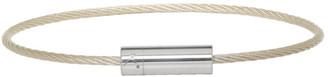 Le Gramme Silver Slick Le 7 Grammes Cable Bracelet