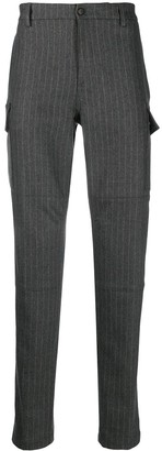 Eleventy Vertical Stripe Knitted Trousers