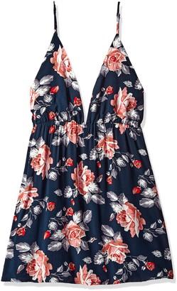 Glamorous Women's Printed Spaghetti Cami Dress
