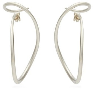 Charlotte Chesnais Looping Silver Earrings - Silver