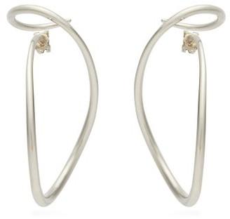 Charlotte Chesnais Looping Silver Earrings - Womens - Silver