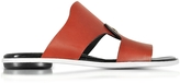 Proenza Schouler Sienna Leather Flat Slide