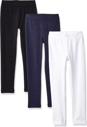 Amazon Essentials 3-Pack Legging Camo/Pink/Blue XS