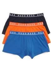 BOSS Men's 3-Pack Stretch Cotton Trunks