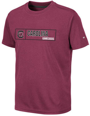 Colosseum Big Boys South Carolina Gamecocks Boxed Logo Polyester T-Shirt