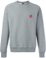 Paul Smith flocked logo sweatshirt