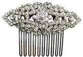 Ben-Amun Women's Haute Bridal Wedding Swarovski Crystal Hair Comb