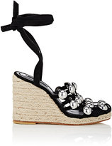 Alexander Wang Women's Taylor Suede Wedge Espadrille Sandals