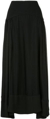 3.1 Phillip Lim Maxi Layered Skirt
