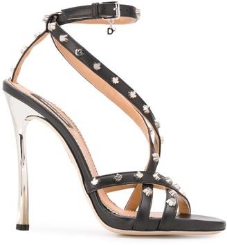 DSQUARED2 Studded Stiletto Sandals