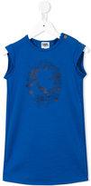 Karl Lagerfeld printed T-shirt dress - kids - Polyester/Spandex/Elastane/Viscose - 6 yrs