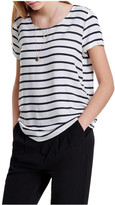 Only First Short Sleeve Stripe Top