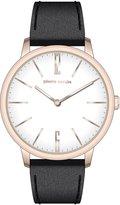 Pierre Cardin Men's 42mm Leather Band Steel Case Quartz Watch Pc106991f27