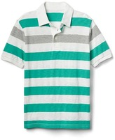 Gap Short sleeve slub polo