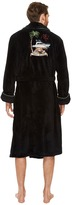 Tommy Bahama Jingle Bell Dock Embroidered Plush Robe Men's Robe
