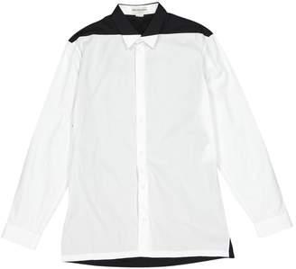 Balenciaga White Cotton Shirts