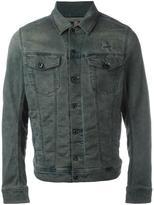 Diesel front pockets denim jacket - men - Cotton/Polyester/Spandex/Elastane - L