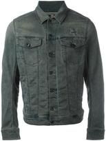 Diesel front pockets denim jacket - men - Cotton/Polyester/Spandex/Elastane - XL