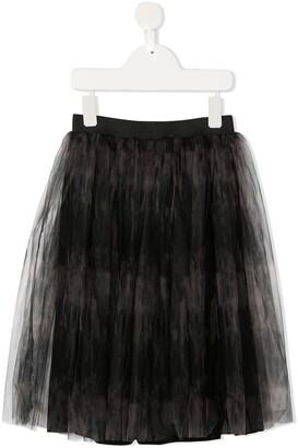 Andorine Printed Tutu Skirt
