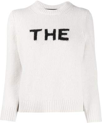Marc Jacobs 'The' crew-neck jumper