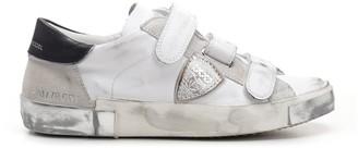 Philippe Model Rips Fancy Sneakers
