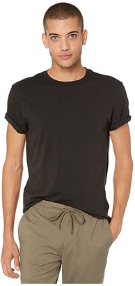 J.Crew Essential Crewneck T-Shirt (Black) Men's Clothing