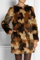 MICHAEL Michael Kors Camouflage faux fur coat