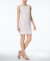 Vince Camuto Geo-Lace Shift Dress