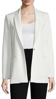 ABS by Allen Schwartz Women's Twill Notch Lapel Jacket