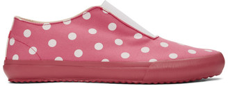 COMME DES GARÇONS GIRL Pink Polka Dots Sneakers