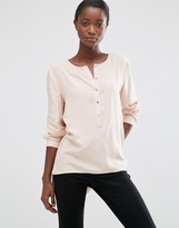 B.young Hally Rose Dust Blouse
