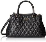 Vera Bradley Quilted Emma Satchel Top-Handle Bag