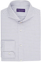 Ralph Lauren Purple Label Men's Tattersall Dress Shirt-PURPLE